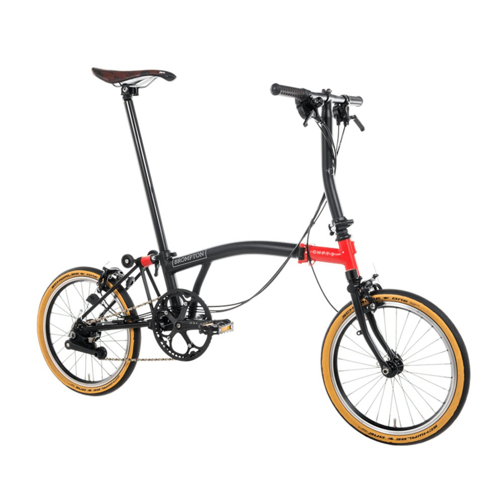 Brompton CHPT3 Edition Steel/Titanium S6E Folding Bike
