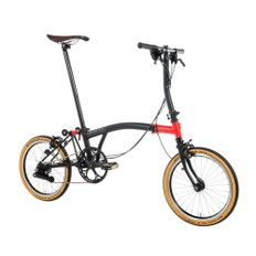 Brompton CHPT3 Edition Steel/Titanium S6E Folding Bike