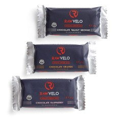 Rawvelo Organic Energy Bar Three Pack