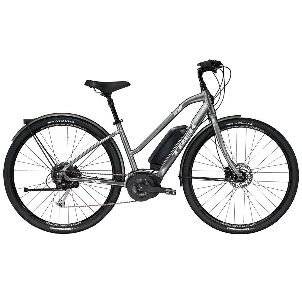 Trek Verve+ Lowstep Electric Disc Hybrid Bike 2019