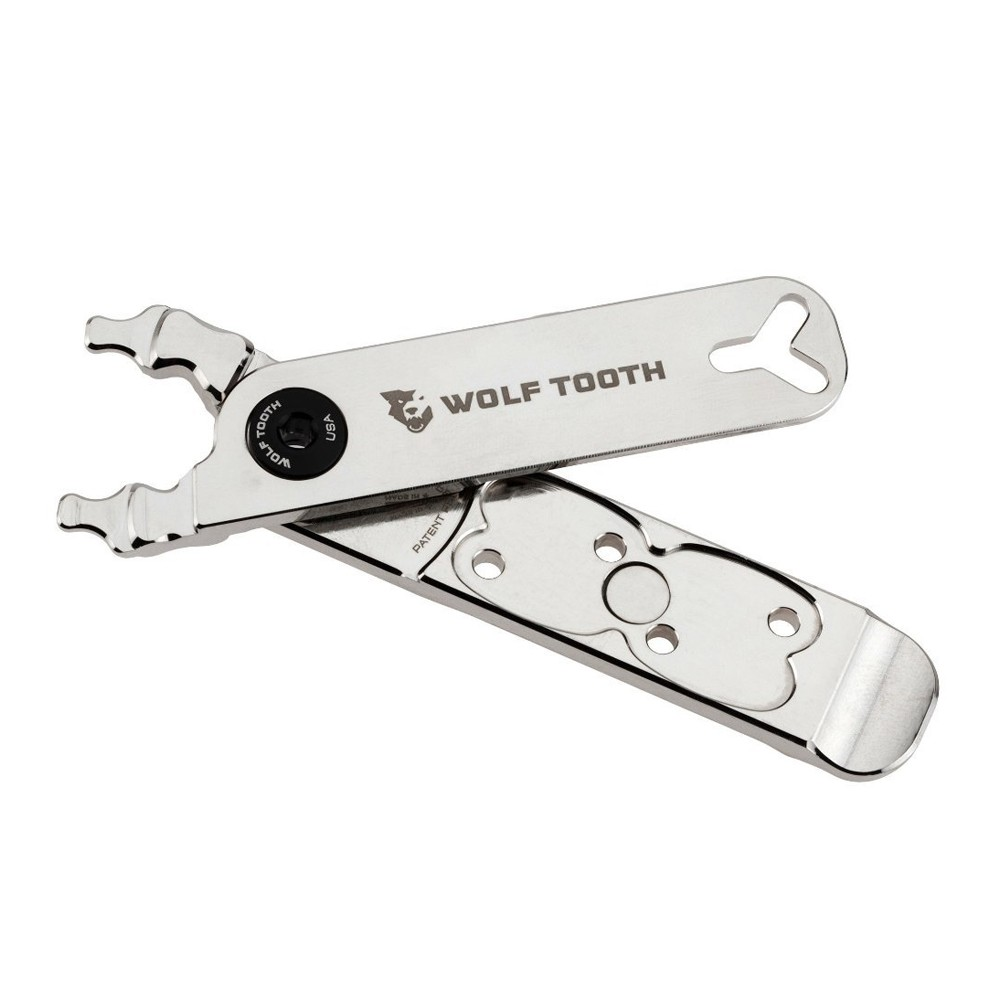 Wolf Tooth Components Master Link Combo Nickel Plated Pliers