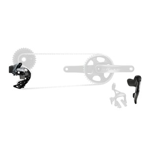 SRAM Force ETap AXS 1X Electronic Road Groupset