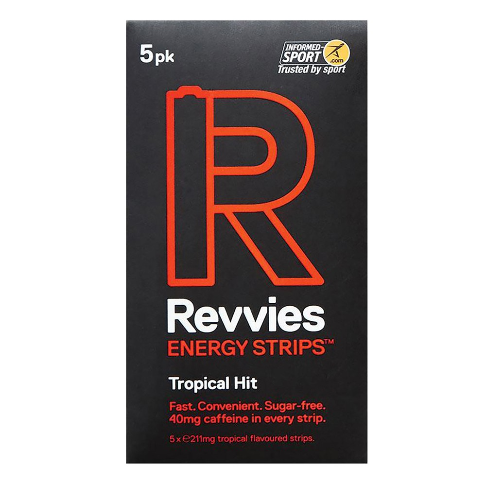 Revvies Energy Strips Box Of 12 X 5 Pack