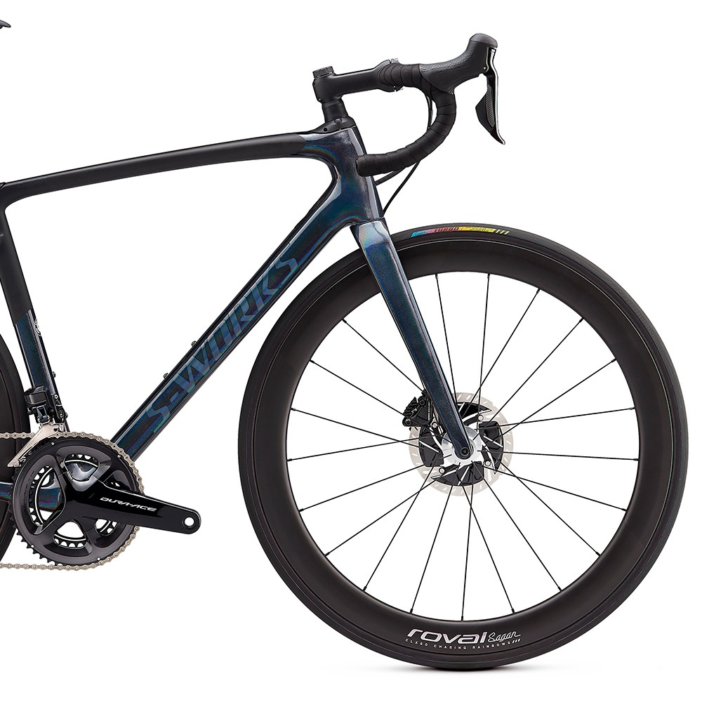 dcb2c8176a8 ... Specialized Sagan Collection S-Works Roubaix Dura-Ace Di2 Road Bike  2020 ...