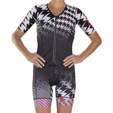 Zoot Ultra Womens Short Sleeve Aero Race Trisuit