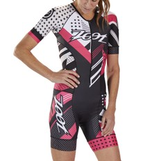 Zoot Team LTD Womens Aero Short Sleeve Race Trisuit