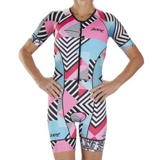 Zoot Cali LTD Womens Aero Short Sleeve Race Trisuit