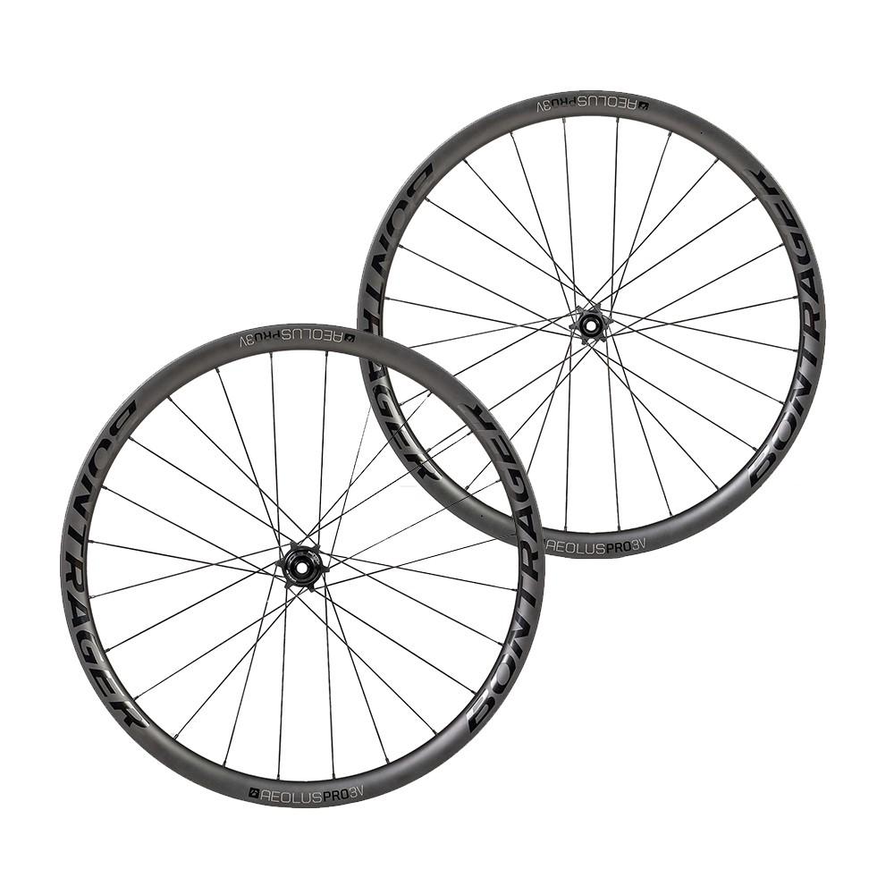 Bontrager Aeolus Pro 3V TLR Carbon Clincher Disc Wheelset
