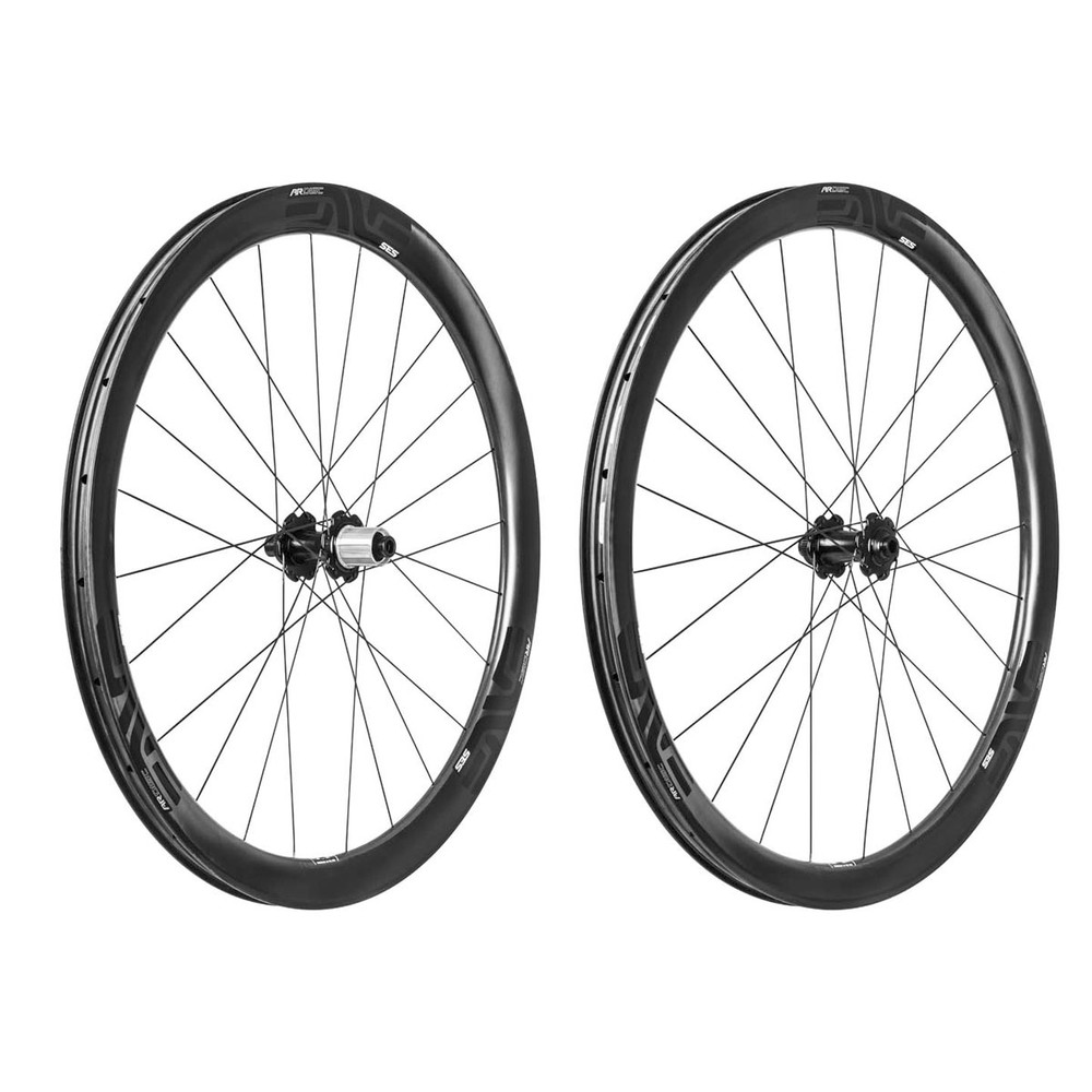 ENVE SES 3.4 AR Clincher Disc Wheelset With Ceramic Chris King R45 Hubs