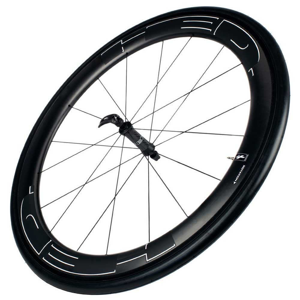 HED Jet 6 Black Stallion Clincher Front Wheel