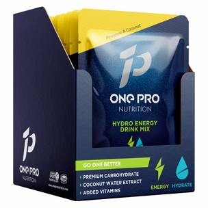ONE PRO Nutrition Hydro Energy Drink Mix Box Of 10 X 40g