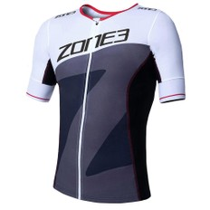 Zone3 Lava Short Sleeve Tri Jersey