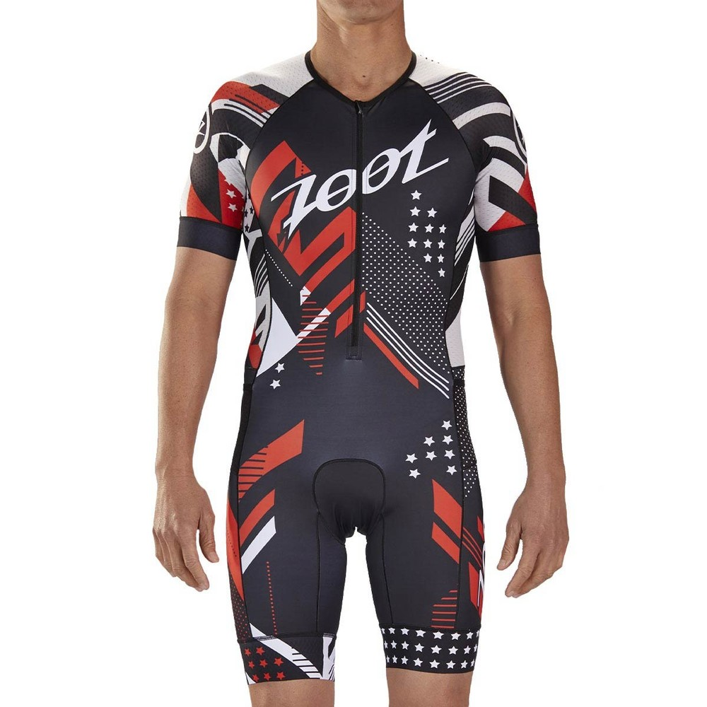 Zoot Team LTD Aero Short Sleeve Race Trisuit
