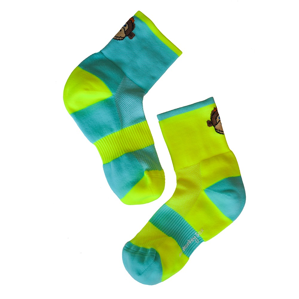 Monkey Sox Run Socks