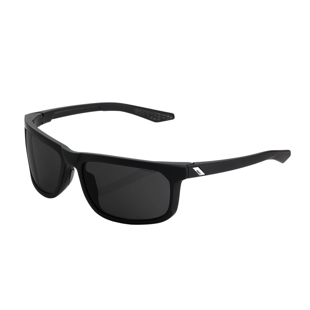 100% Hakan Sunglasses With Grey Peak Polar Lens