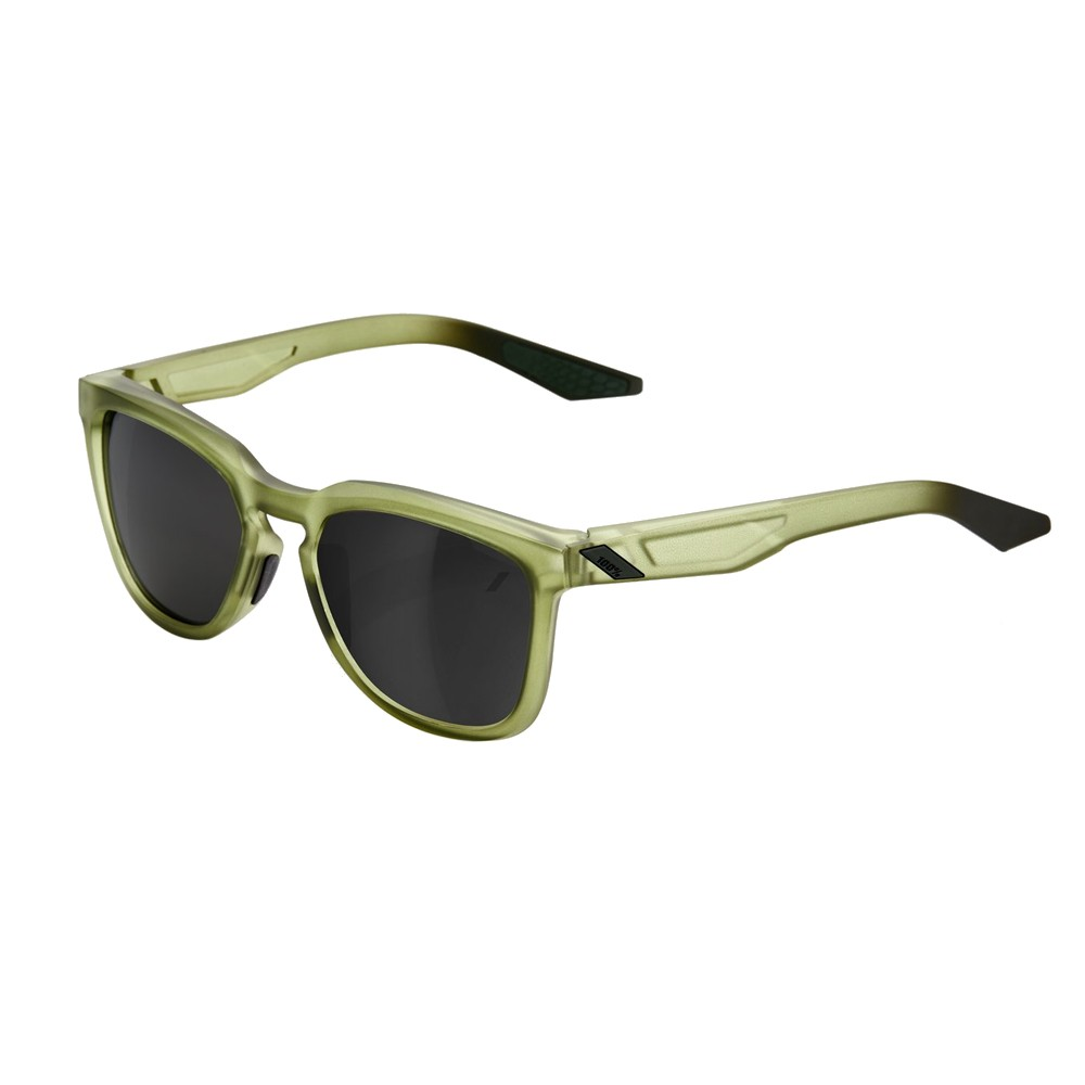 100% Hudson Sunglasses With Black Mirror Lens