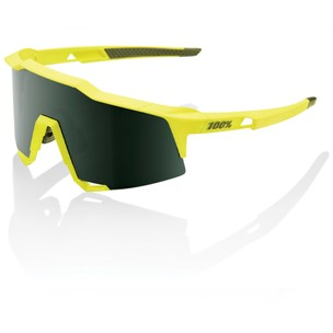 100% Speedcraft Sunglasses With Grey Green Lens