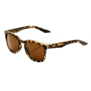100% Hudson Sunglasses With Bronze Lens