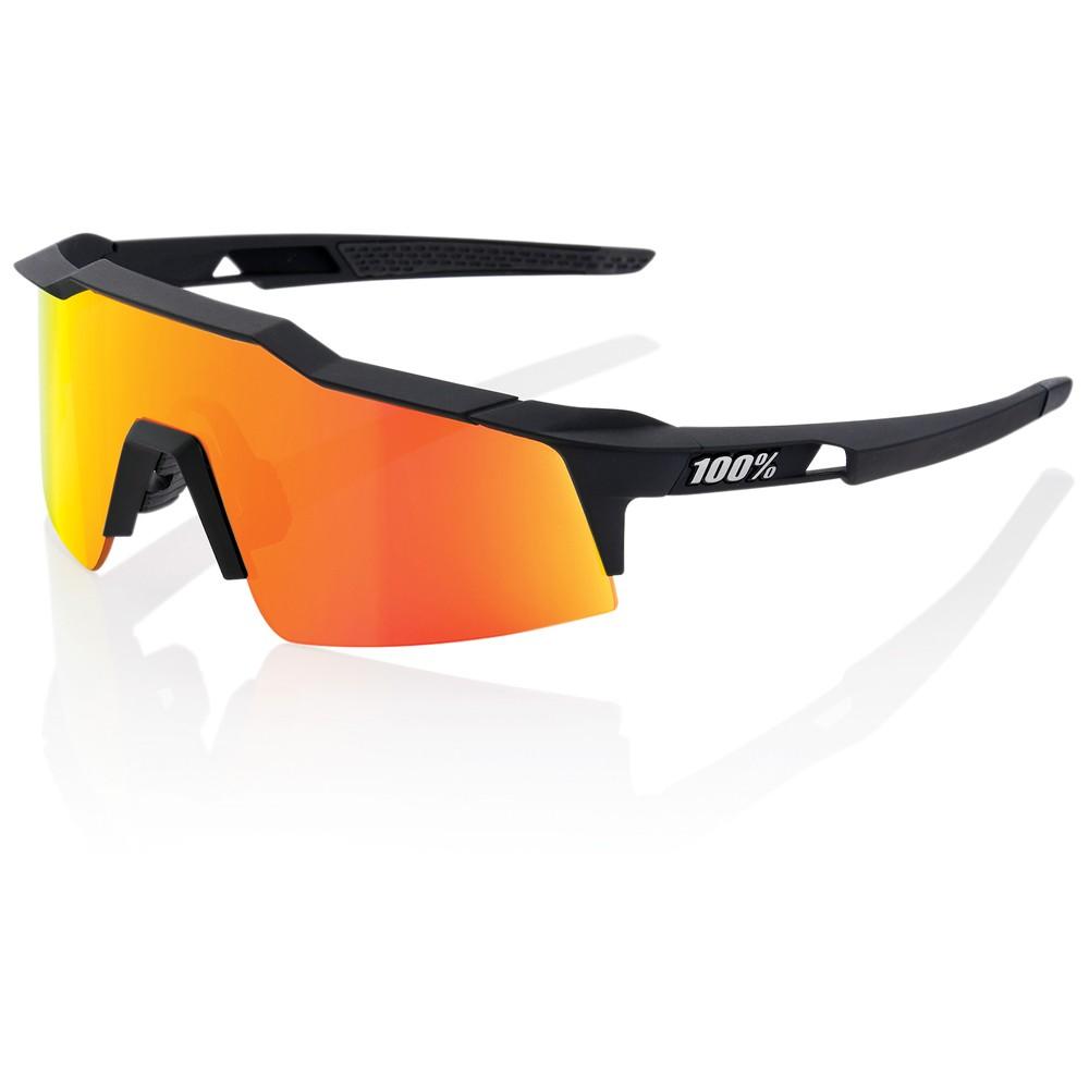 100% Speedcraft SL Sunglasses With HiPER Red Mirror Lens