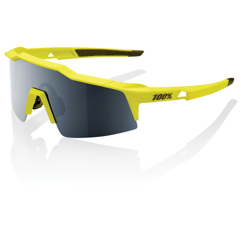 100% Speedcraft SL Sunglasses With Black Mirror Lens