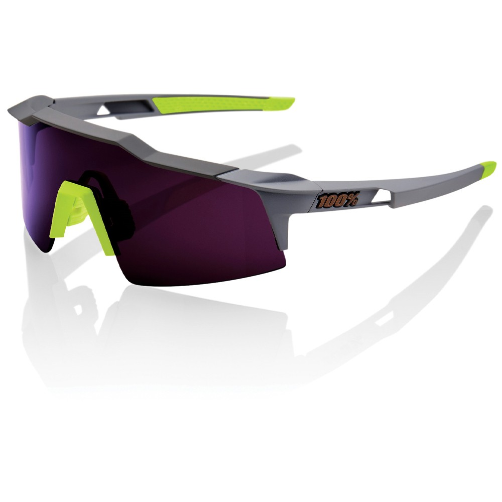 100% Speedcraft SL Sunglasses With Purple Lens