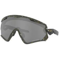 Oakley Wind Jacket 2.0 Splatterfade Sunglasses with Prizm Black Lens