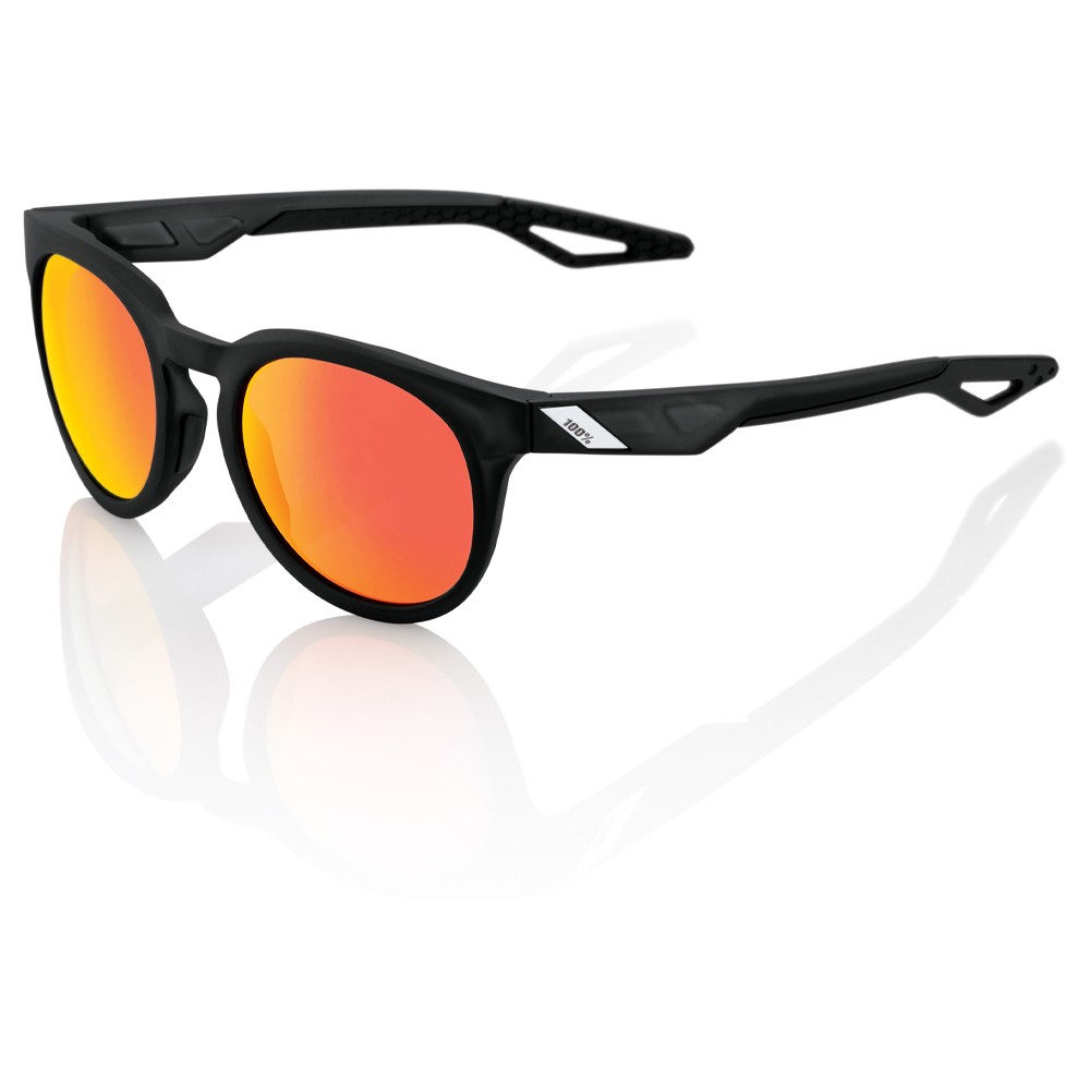100% Campo Sunglasses With HiPER Red Mirror Lens
