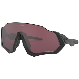Oakley Flight Jacket Sunglasses With Prizm Road Black Lens