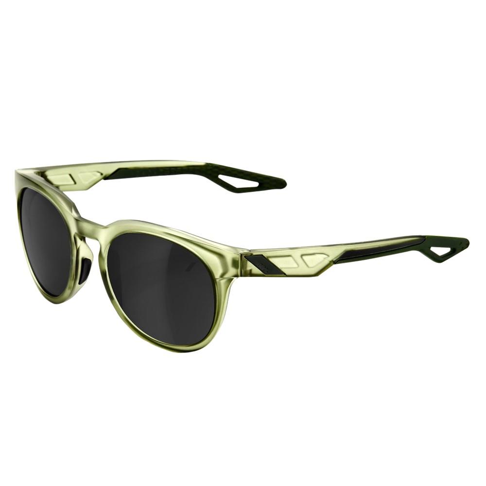 100% Campo Sunglasses With Black Mirror Lens