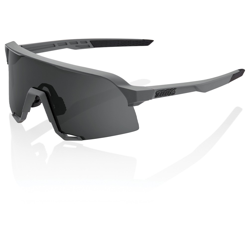 100% S3 Sunglasses With Smoke Lens