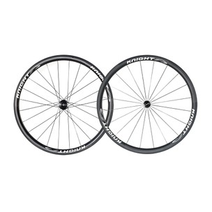 Knight Composites 35 Carbon Clincher Rotor RVolver Wheelset