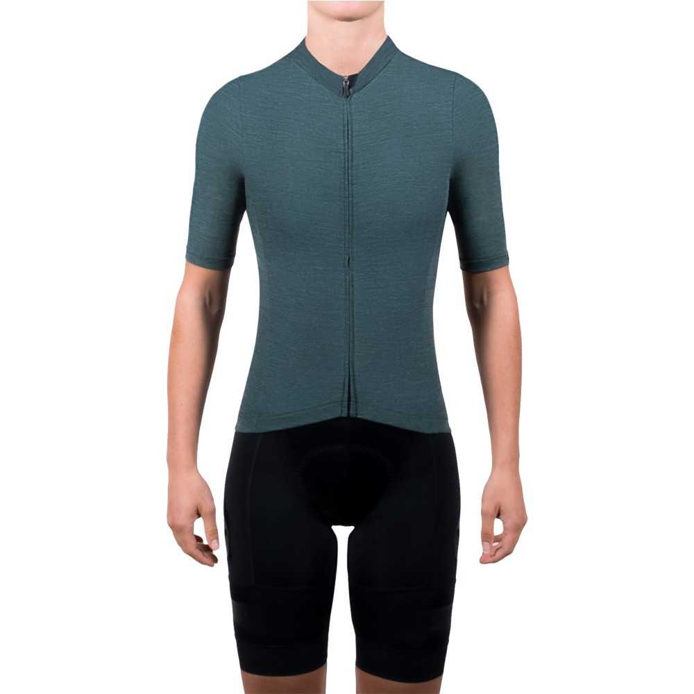 Black Sheep Cycling Euro Collection MERINO Womens Short Sleeve Jersey