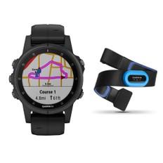 Garmin Fenix 5S Plus Sapphire Multisport GPS Watch Bundle