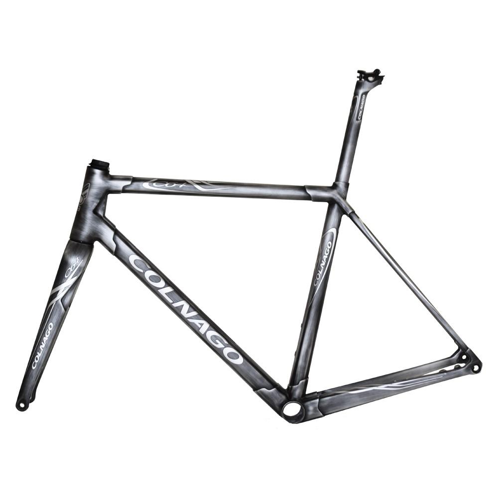 Colnago C64 Brushed Metal Road Frameset (High Geometry)