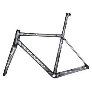 Colnago C64 Brushed Metal Road Disc Frameset (High Geometry)
