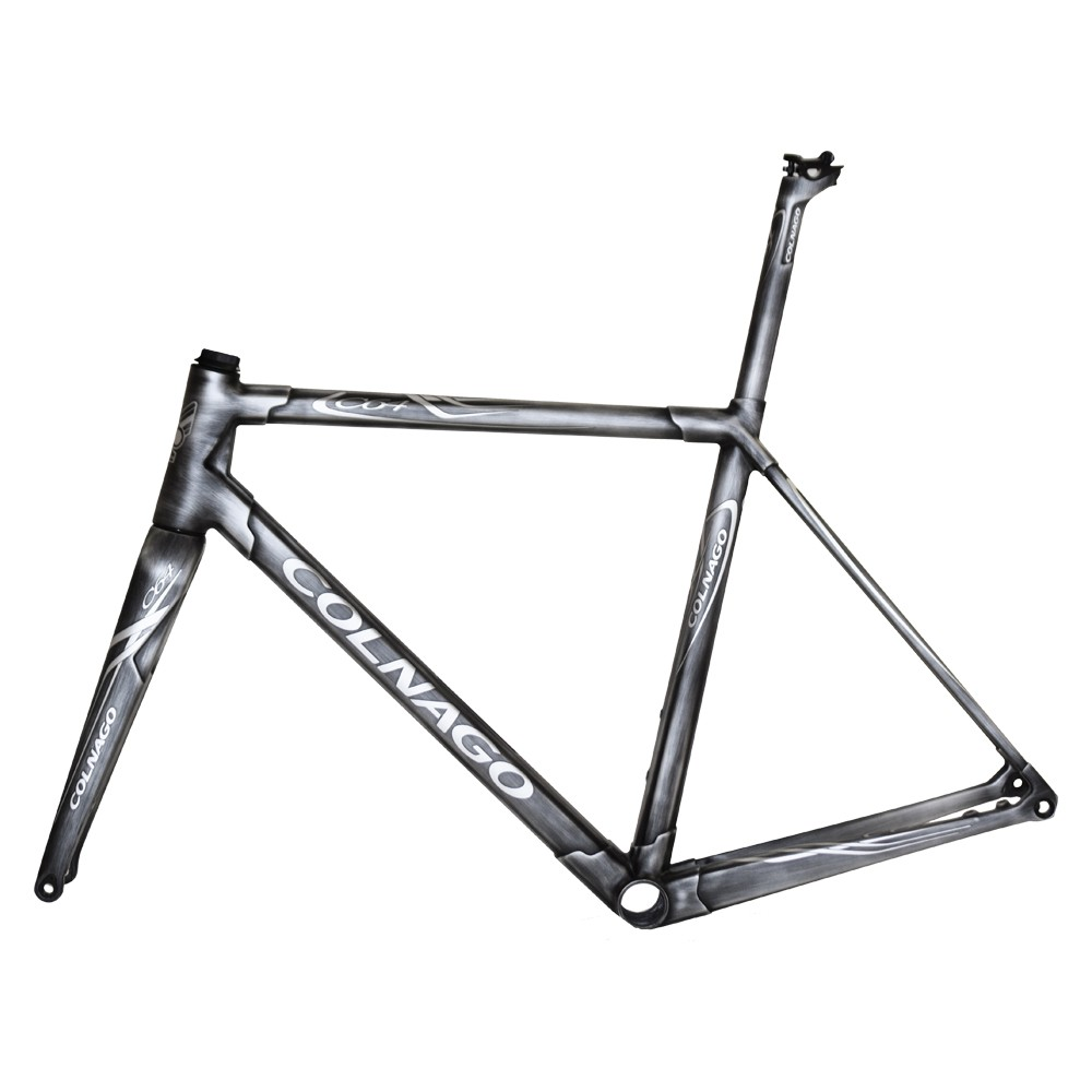 Colnago C64 Brushed Metal Road Disc Semi Integrated Frameset (Sloping)