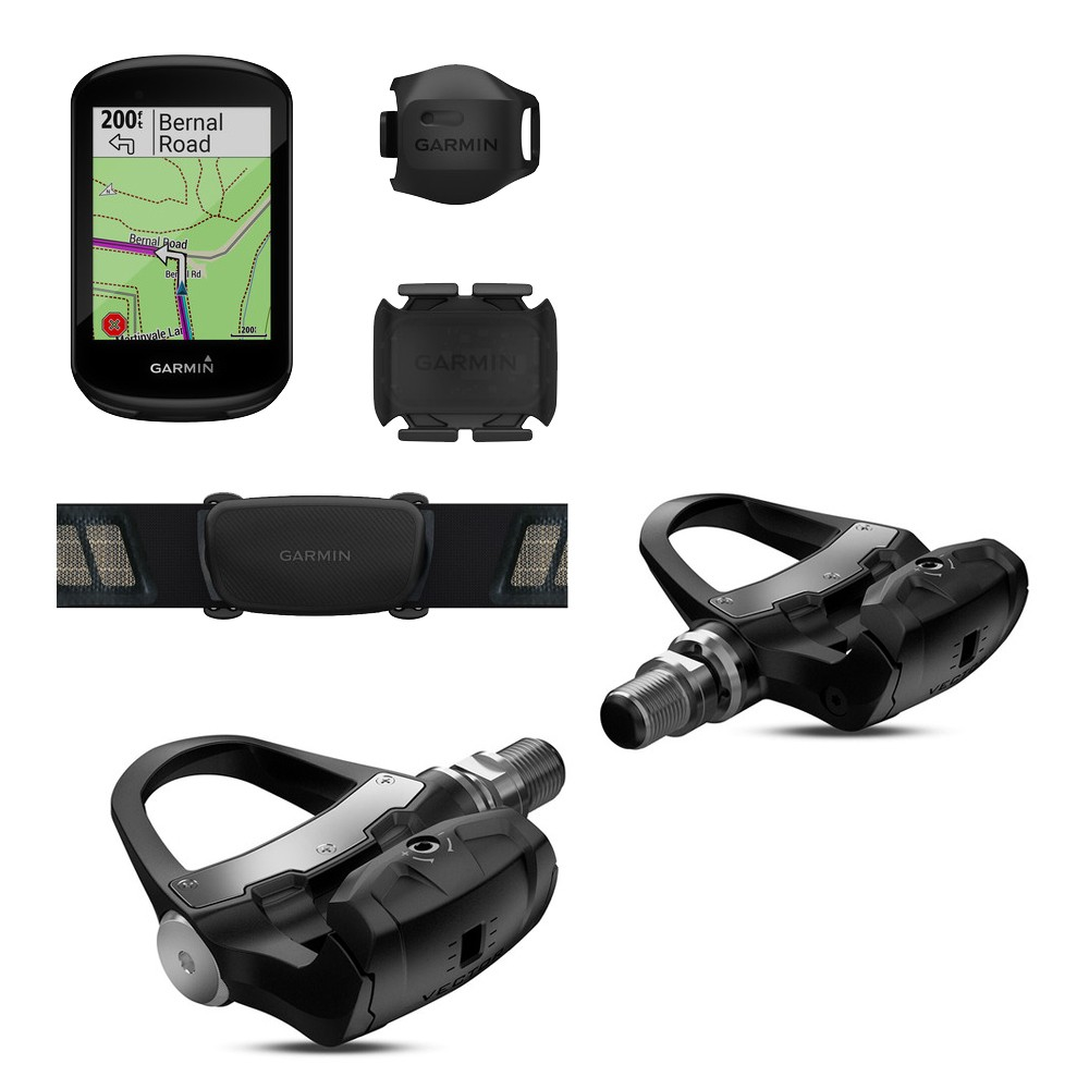 Garmin Edge 830 GPS Performance + Vector 3 Double Sided Power Meter Bundle