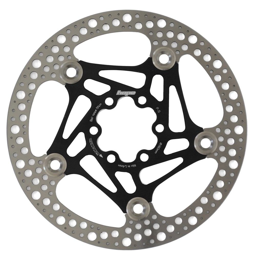 Hope Technology Road Floating Disc 6 Bolt 160mm Rotor