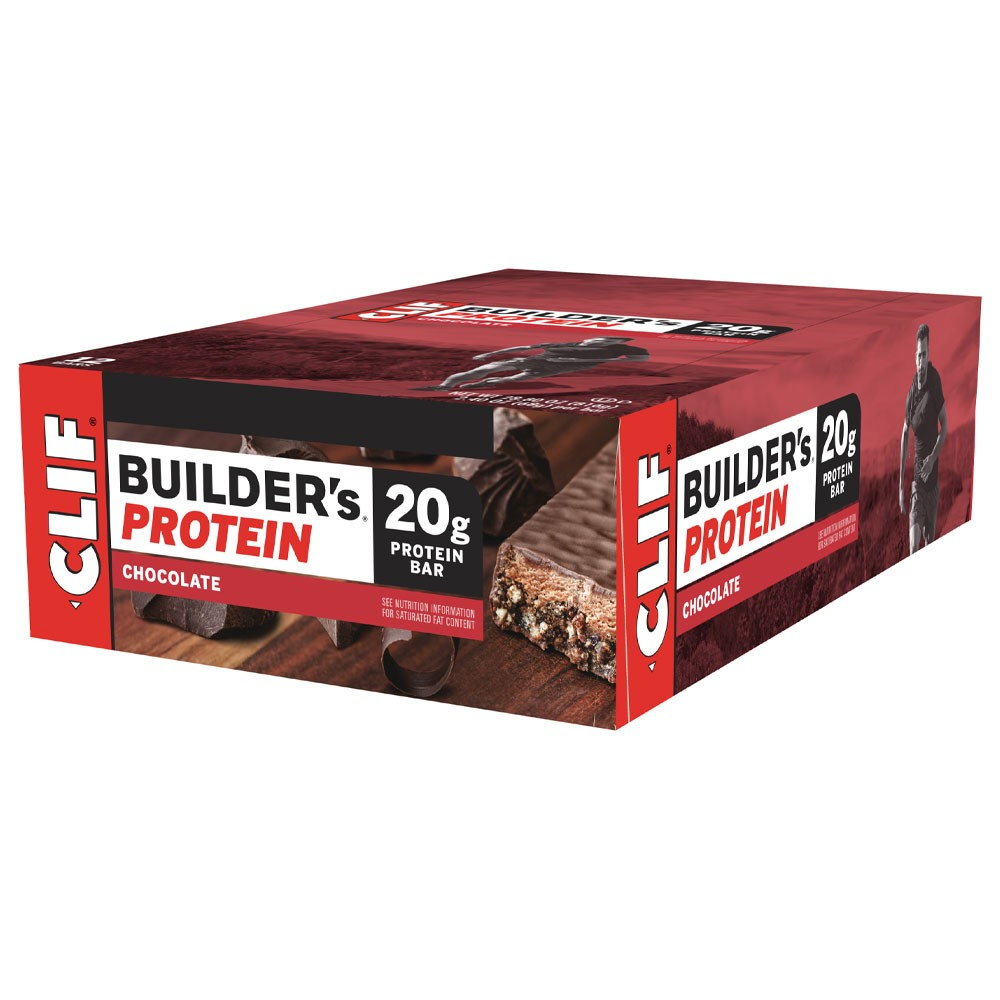 Clif Bar Builders Bar Box Of 12 X 68g