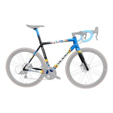 Colnago C64 Mapei Road Frameset (Sloping Geometry)