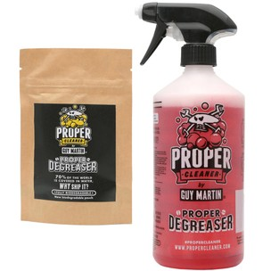 Proper Cleaner By Guy Martin Degreaser Starter Pack 1.5 Litre