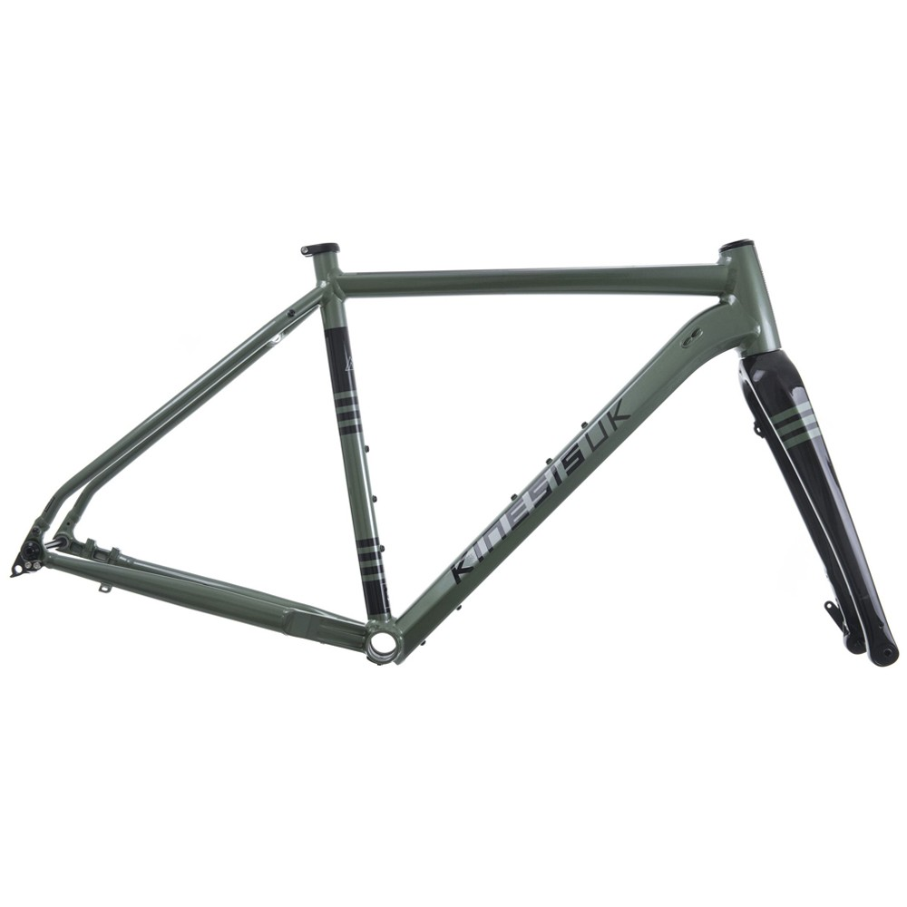 Kinesis Tripster AT Disc Gravel Frameset With Columbus Fork