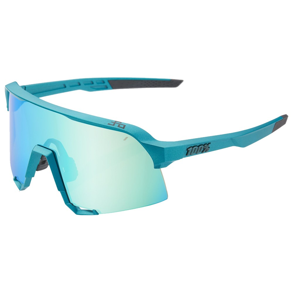 100% S3 Sagan Limited Edition Sunglasses With Blue Topaz Mirror Lens