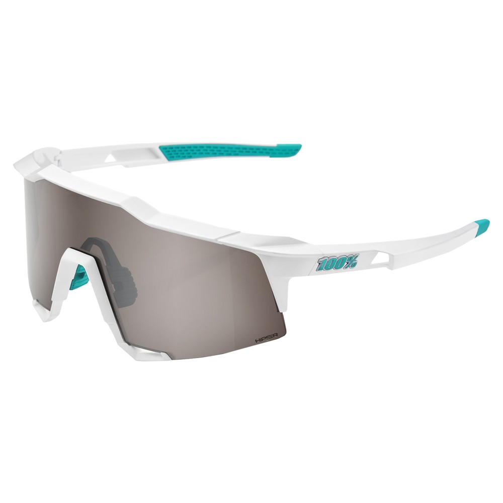 100% Speedcraft Bora Hansgrohe Edition Sunglasses HiPER Silver Mirror Lens