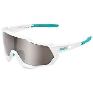 100% Speedtrap Bora Hansgrohe Edition Sunglasses HiPER Silver Mirror Lens