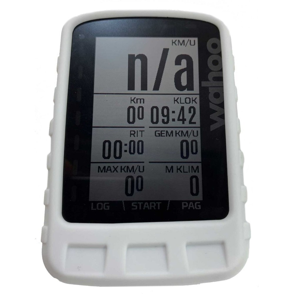 Tuff-Luv Silicone Case For Wahoo ELEMNT ROAM With Screen Protection