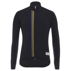 Santini UCI Collection Rainbow Long Sleeve Jersey