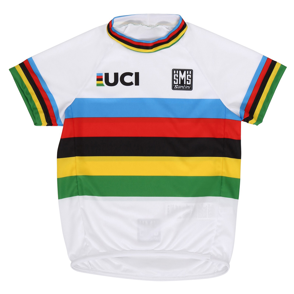 Santini UCI Collection Rainbow Baby Short Sleeve Jersey