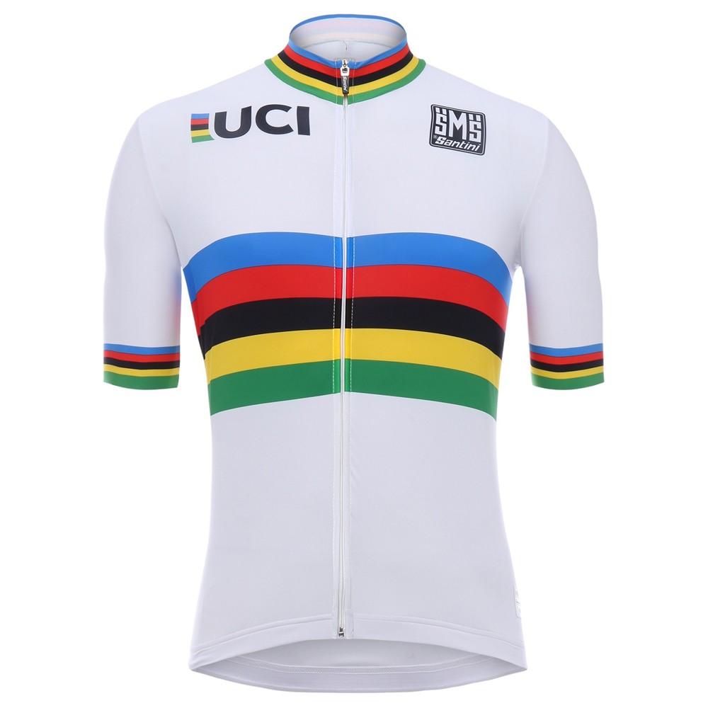 Santini UCI Collection World Champions Short Sleeve Jersey