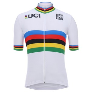 Santini UCI Collection World Champions Short Sleeve Jersey